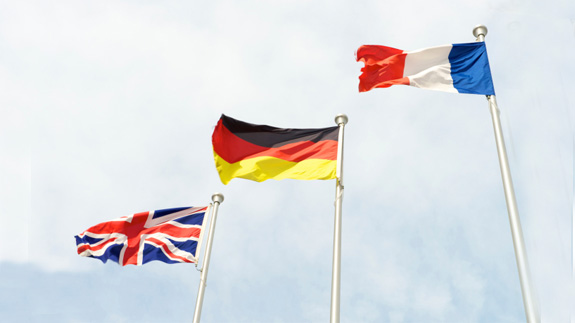 uk-germany-france flags